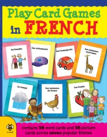 Play Card Games in French, Paperback Book