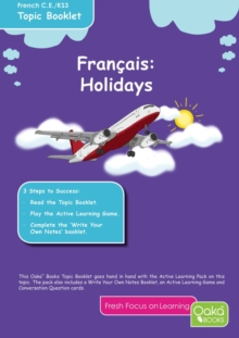 FRENCH HOLIDAYS, Paperback Book