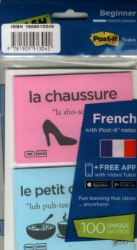 Flashsticks French Beginner Starter Pack, Cards Book