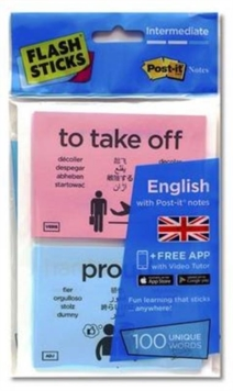 Flashsticks English Intermediate Starter Pack, Cards Book