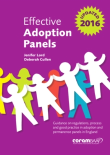 EFFECTIVE ADOPTION PANELS, Paperback Book