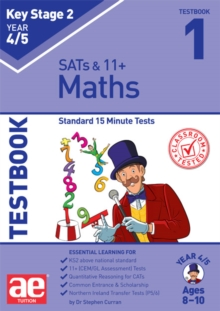 KS2 Maths Year 4/5 Testbook 1 : Standard 15 Minute Tests, Paperback / softback Book