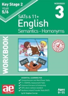 KS2 Semantics Year 5/6 Workbook 3 - Homonyms, Paperback / softback Book