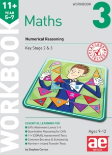 11+ Maths Year 5-7 Workbook 3 : Numerical Reasoning, Paperback Book