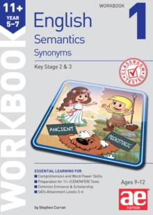 11+ Semantics Workbook 1 - Synonyms, Paperback / softback Book
