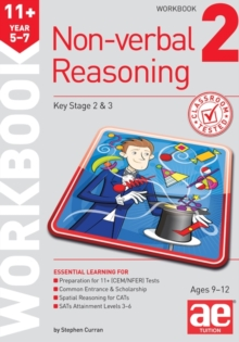 11+ Non-verbal Reasoning Year 5-7 Workbook 2 : Including Multiple-choice Test Technique, Paperback / softback Book