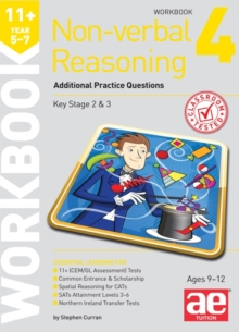 11+ Non-verbal Reasoning Year 5-7 Workbook 4 : Additional Practice Questions, Paperback / softback Book
