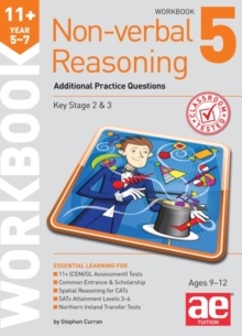 11+ Non-verbal Reasoning Year 5-7 Workbook 5 : Additional Practice Questions, Paperback / softback Book