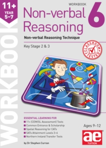 11+ Non-Verbal Reasoning Year 5-7 Workbook 6: Non-Verbal Reasoning Technique, Paperback Book