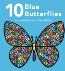 10 Blue Butterflies, Hardback Book