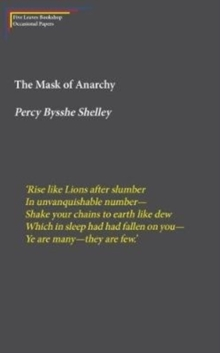 The Mask of Anarchy, Paperback / softback Book