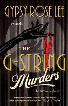 The G-String Murders, Paperback Book