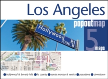 Los Angeles PopOut Map, Sheet map, folded Book