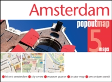 Amsterdam PopOut Map, Sheet map, folded Book
