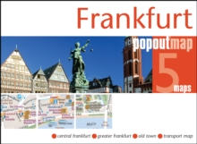 Frankfurt Popout Map, Sheet map, folded Book
