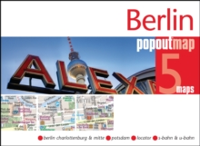 Berlin PopOut Map, Sheet map, folded Book