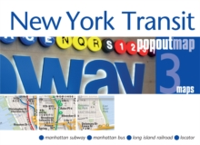 New York Transit PopOut Map, Sheet map, folded Book
