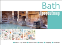 Bath PopOut Map, Sheet map, folded Book
