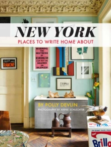 New York : Places to Write Home About, Hardback Book