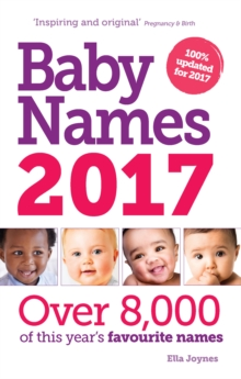 Baby Names 2017, Paperback Book