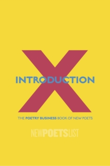 Introduction X : The Poetry Business Book of New Poets, Paperback Book