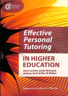 Effective Personal Tutoring in Higher Education, Paperback / softback Book