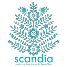 Scandia : A Colouring Book Journey, Paperback Book