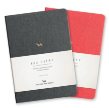A Notebook For Bad Ideas - Grey/lined, Notebook / blank book Book