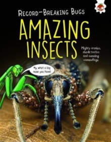 Amazing Insects - Record-Breaking Bugs, Paperback / softback Book