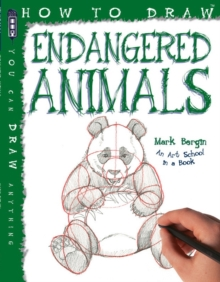 How To Draw Endangered Animals, Paperback Book
