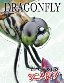 Up Close & Scary Dragonfly, Paperback Book