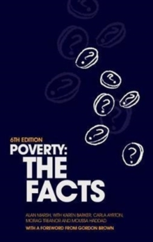 Poverty : The Facts, Paperback Book