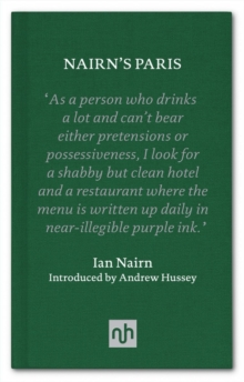 Nairn's Paris, Hardback Book