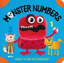Monster Numbers Finger Puppet Book, Board book Book