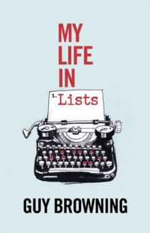My Life in Lists, Hardback Book