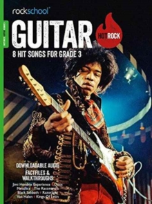 GUITAR HOT ROCK GRADE 3, Paperback Book