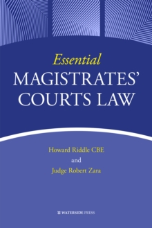 Essential Magistrates' Courts Law, EPUB eBook