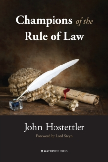 Champions of the Rule of Law, EPUB eBook