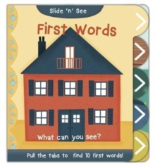 Slide 'n' See First Words, Hardback Book