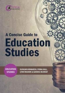 A Concise Guide to Education Studies, Paperback / softback Book