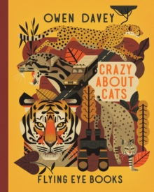 CRAZY ABOUT CATS, Hardback Book
