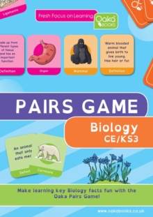 BIOLOGY PAIRS GAME, Paperback Book