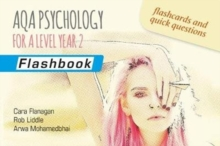 AQA Psychology for A Level Year 2: Flashbook, Paperback / softback Book