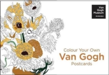 Colour Your Own Van Gogh Postcard Book : 20 Postcards, Postcard book or pack Book