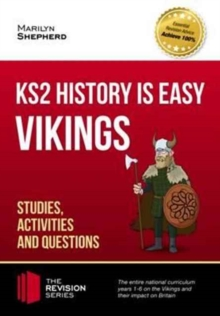 KS2 History is Easy: Vikings (Studies, Activities & Questions) Achieve 100%, Paperback Book