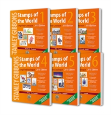 2018 Stamps of the World (6 Volume Set), Paperback Book