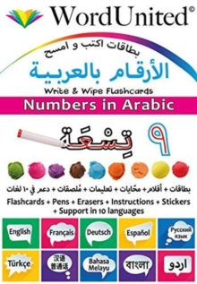 Numbers in Arabic : Write & Wipe Flashcards, Undefined Book