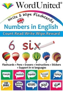 Numbers in English : Write & Wipe Flashcards, Undefined Book