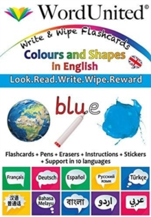 Colours and Shapes in English : Write & Wipe Flashcards, Undefined Book