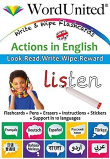 Actions in English : Write & Wipe Flashcards, Undefined Book